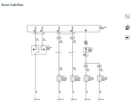 Door Control Module Schematics